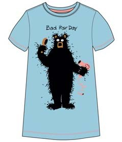 """Bad Hair Day"" Sleepshirt from Hatley Nature $29"