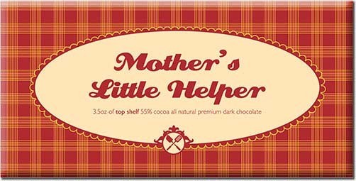 """Mother's Little Helper"" Chocolate Bar from Bloomsberry"