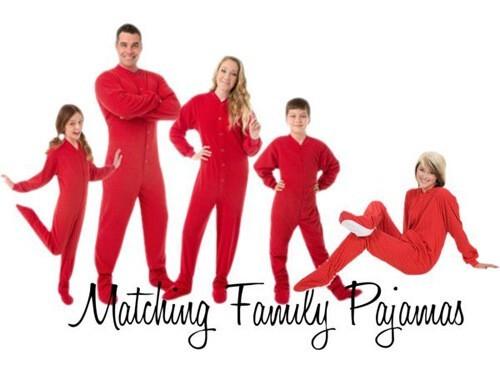 Tag archive: family matching pajamas