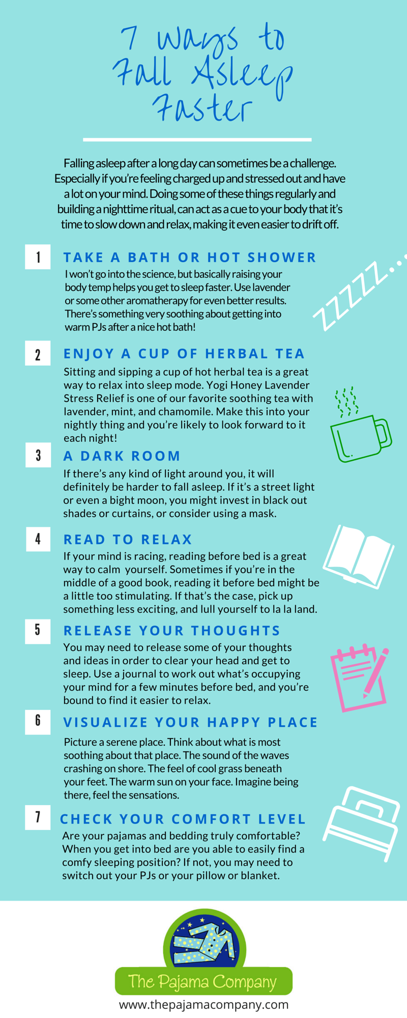 7 Ways to Fall Asleep Faster